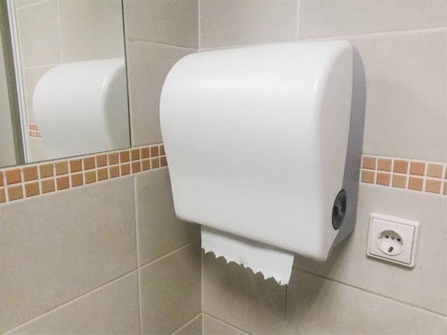 Touch Free Paper Towel Dispenser